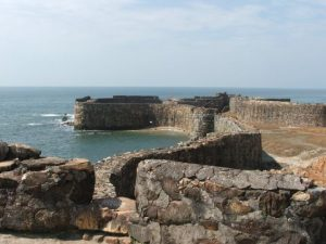 Sindhudurg_Fort_West_wall