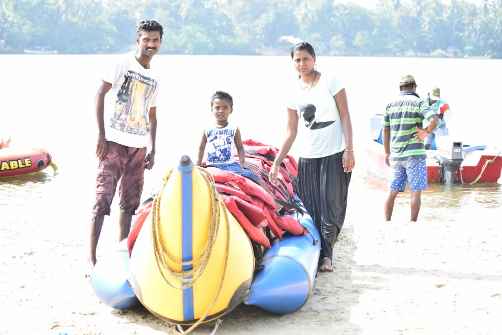 Water sports in Tarkarli