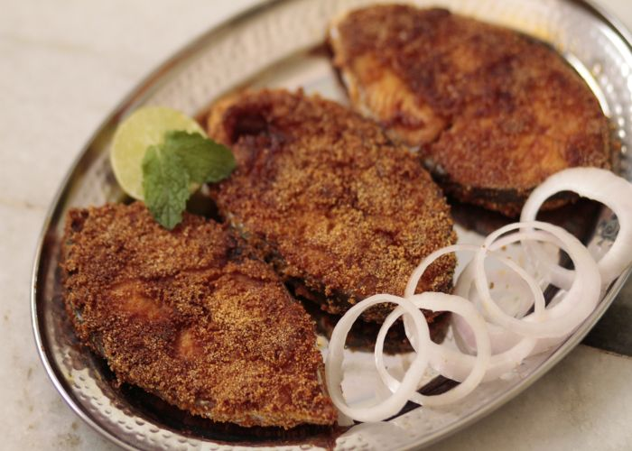 Seafood restaurant in Tarkarli